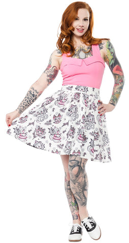 Creep Heart- Skirt