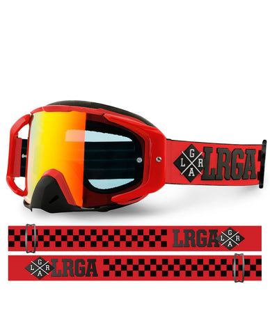 Loose Riders - C/S Goggles - RED edition - Nelson - New Zealand