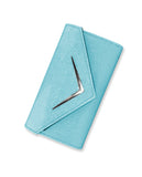 Blue Chevron - Wallet