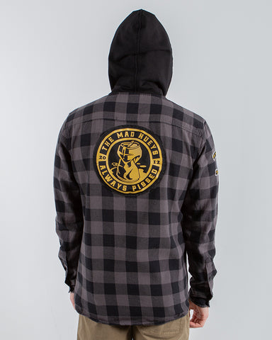 Always Pissed - Hooded Flannel