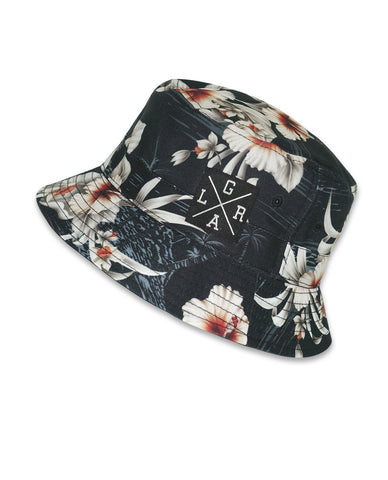 Bucket Hat - Black Island