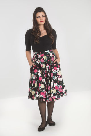 Queen of Hearts 50's Skirt