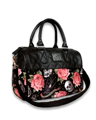 Rose Tattoo - Hand Bag