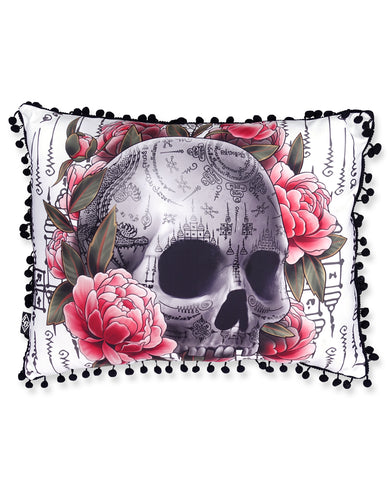 Sakyant Skull - Pillow