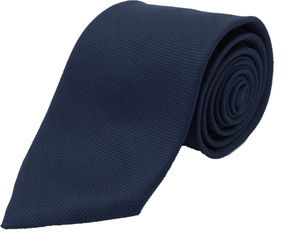 Royal Blue Grenadine Silk Tie one-bespoke-london.myshopify.com