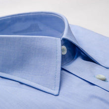 Load image into Gallery viewer, Egyptian Cotton Dress Shirt Blue