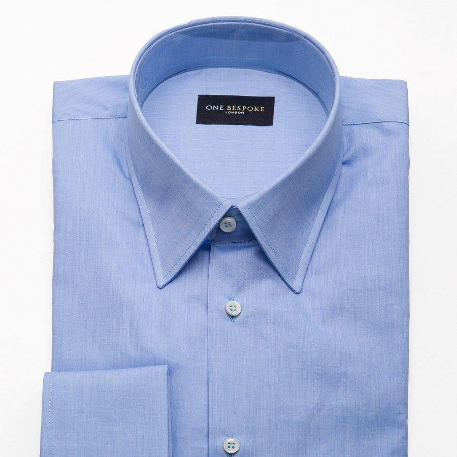 Egyptian Cotton Dress Shirt Blue
