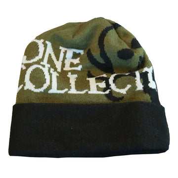 Beanie Flip Green - Bone Collector Life