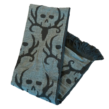 Bone Collector Heavy Horns Scarf by Michael Waddell