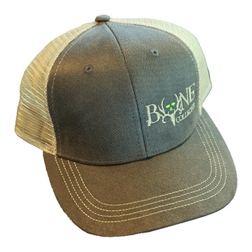 Scrape Deluxe Wax Cotton Trucker Cap - Bone Collector Life