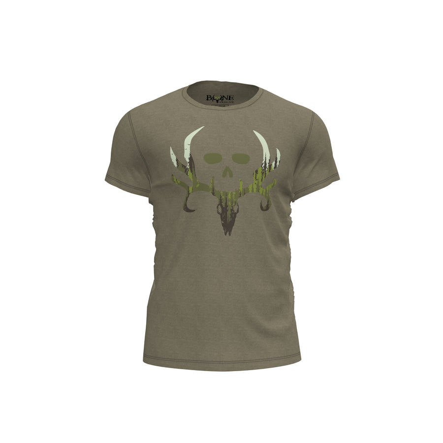 Bone Collector Brooks Triblend T-Shirt