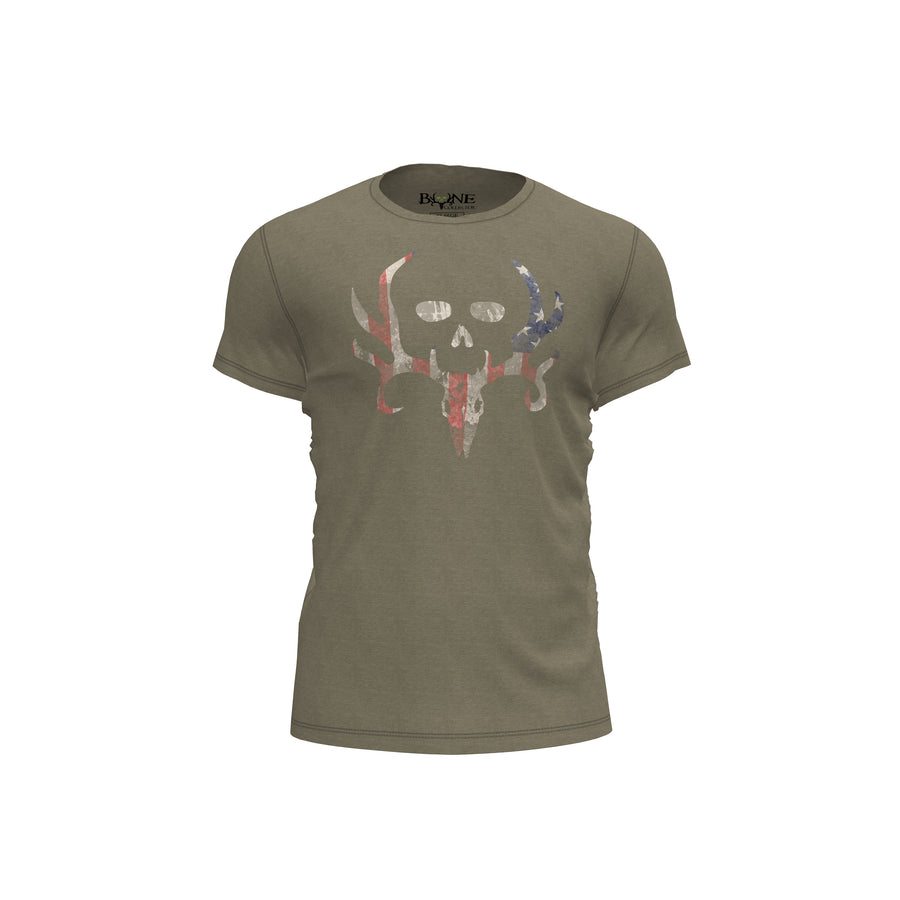 Bone Collector Union Tri-Blend T-Shirt by Michael Waddell