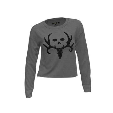 Bone Collector Avondale Cropped Crop Crewneck by Michael Waddell