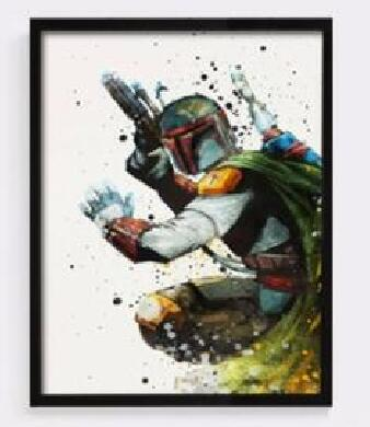 Star Wars Villains Canvas Paintings