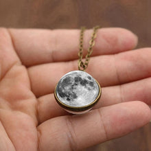 Load image into Gallery viewer, Full moon necklace - spaceexploration