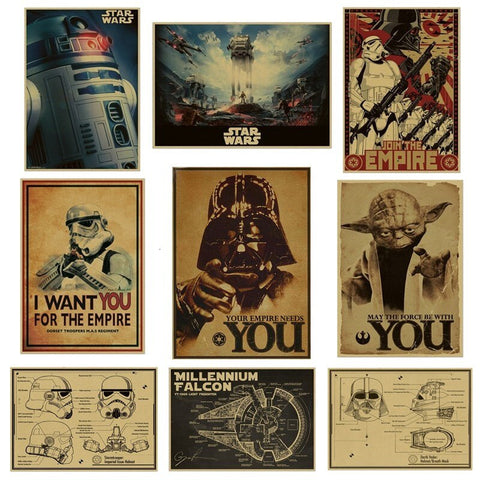 Retro Star Wars Posters