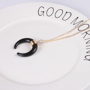 Crescent moon necklace - spaceexploration
