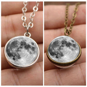 Full moon necklace - spaceexploration