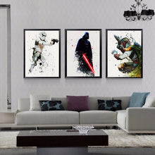 Load image into Gallery viewer, Star Wars Villains Canvas Paintings