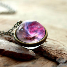 Load image into Gallery viewer, 3d galaxy necklace - spaceexploration