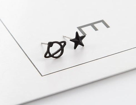 Star /u0026 planet earrings - spaceexploration