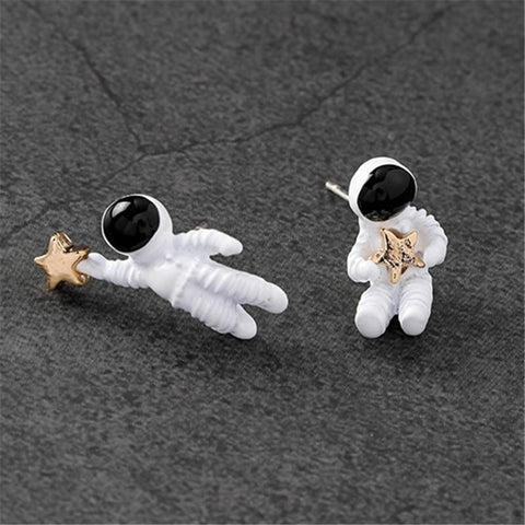 Starman earrings - spaceexploration