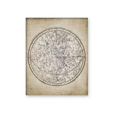 Load image into Gallery viewer, 1822 Antique Astronomy Constellation Wall Art - spaceexploration