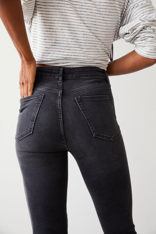 Raw High Rise Jegging by Free People (2 Colors) Wild Bohemian