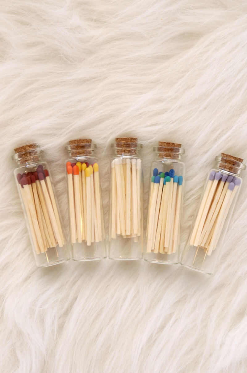 Matches In A Bottle Wild Bohemian