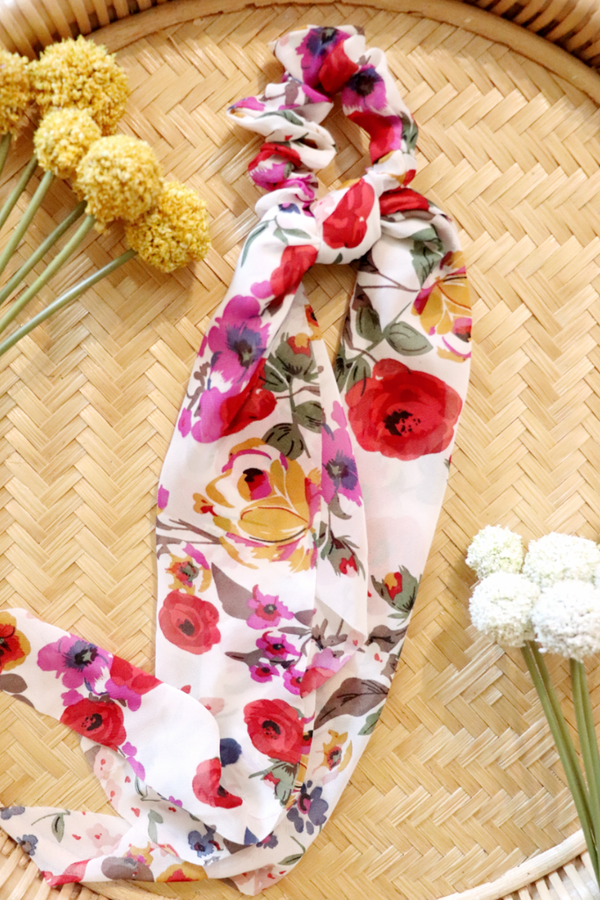 WildFlower Hair Scarf + Scrunchie Wild Bohemian