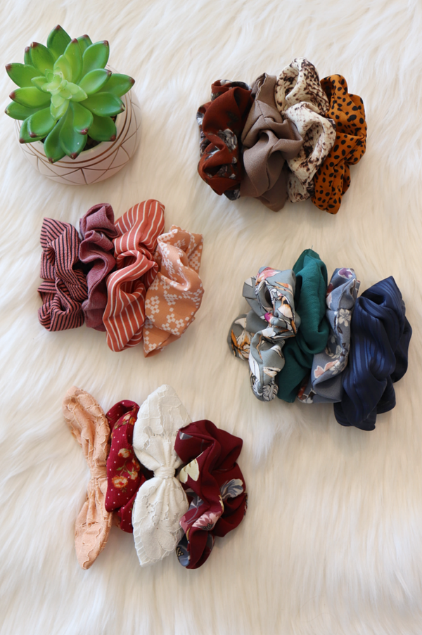 Scrunchie Sets Wild Bohemian