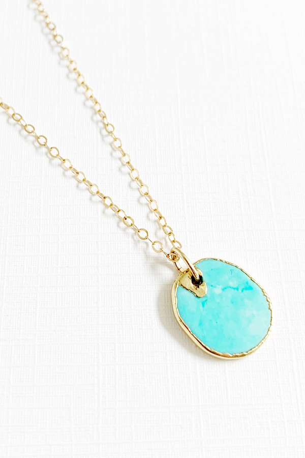 Turquoise + 14kg Necklace necklace