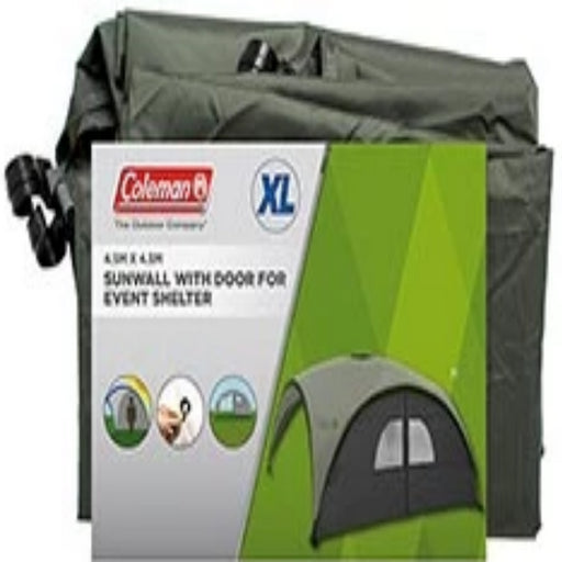 Coleman Sunwall with Door for Event Shelter 4.5 X 4.5 (Metre)