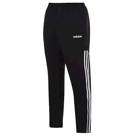 ADIDAS Cuffed Poly Matte Men's Training Pants BLACK/WHITE