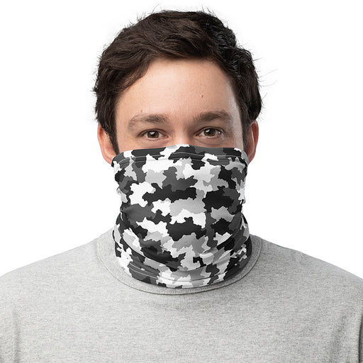 Camouflage | Printed Neck Gaiter | Washable Face covering