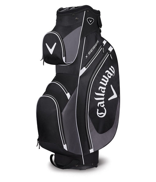 Callaway X-Series Cart Bag - Black/Charcoal/White