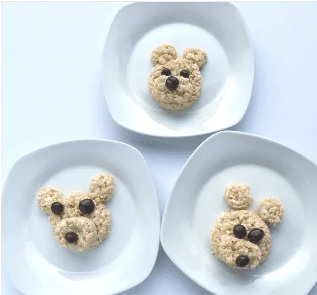 TEDDY BEAR PICNIC DESSERT FOR KIDS TO MAKE