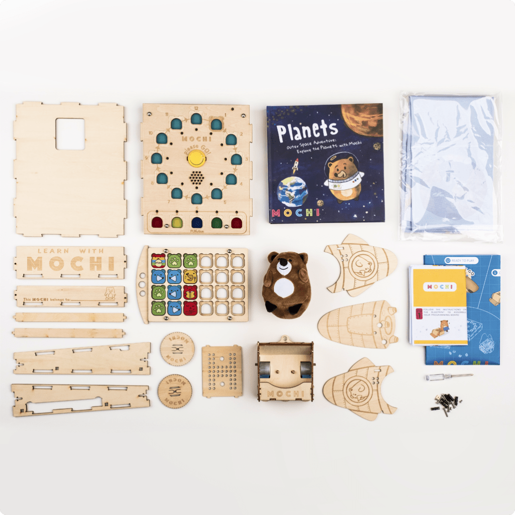 Mochi Robotics Kit: Basic 1 Book Adventure Pack