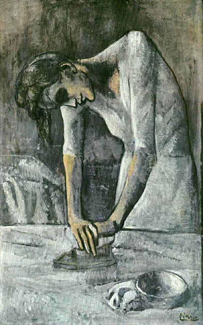 Pablo Picasso Woman Ironing