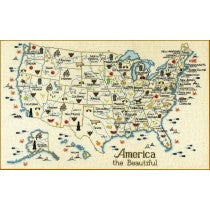 USA & the 50 State Map Collection