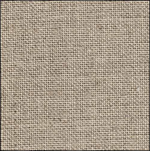 Raw Natural Edinburgh Linen - 36 count