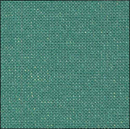 Emerald Opalescent Newcastle Linen - 40 count