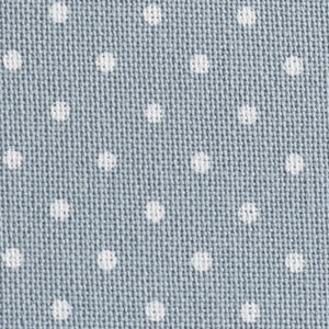 Blue with White Petit Point - 32 count