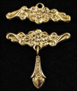 Brass Bell Pull - Filligree