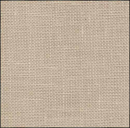 Mushroom (Light Mocha) Newcastle Linen - 40 count
