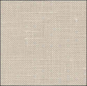 Platinum / China White Newcastle Linen - 40 count
