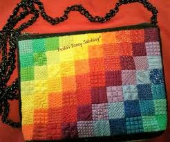 Rainbow Stitches - Purse