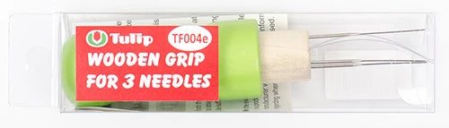 Wooden Grip for 3 Needles
