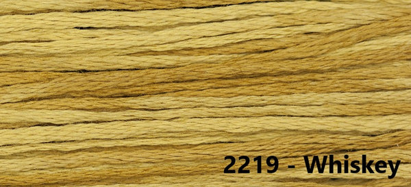 Weeks Dye Works - 6 Strand Floss - S to Z