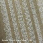 White Lace Square & Borders